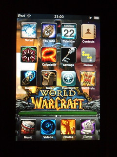iPod Touch World of Warcraft theme [Explored] | by Hayn0r