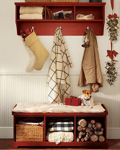 entryway bench and shelf from pottery barn entryway. Black Bedroom Furniture Sets. Home Design Ideas