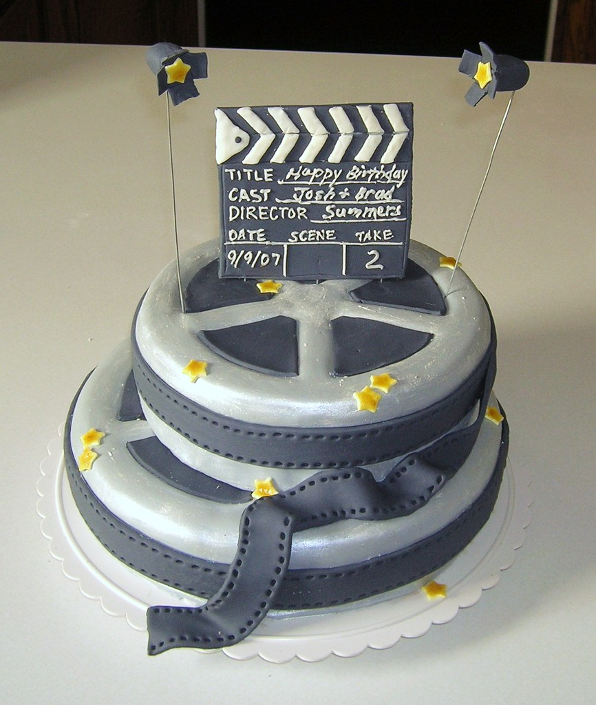 Film Cake 2 This Was The Duplicate Cake I Used Silver