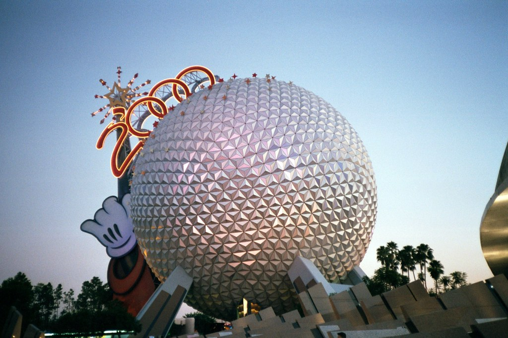 Disney Epcot   Epcot at Disney World from 2000   Jack   Flickr