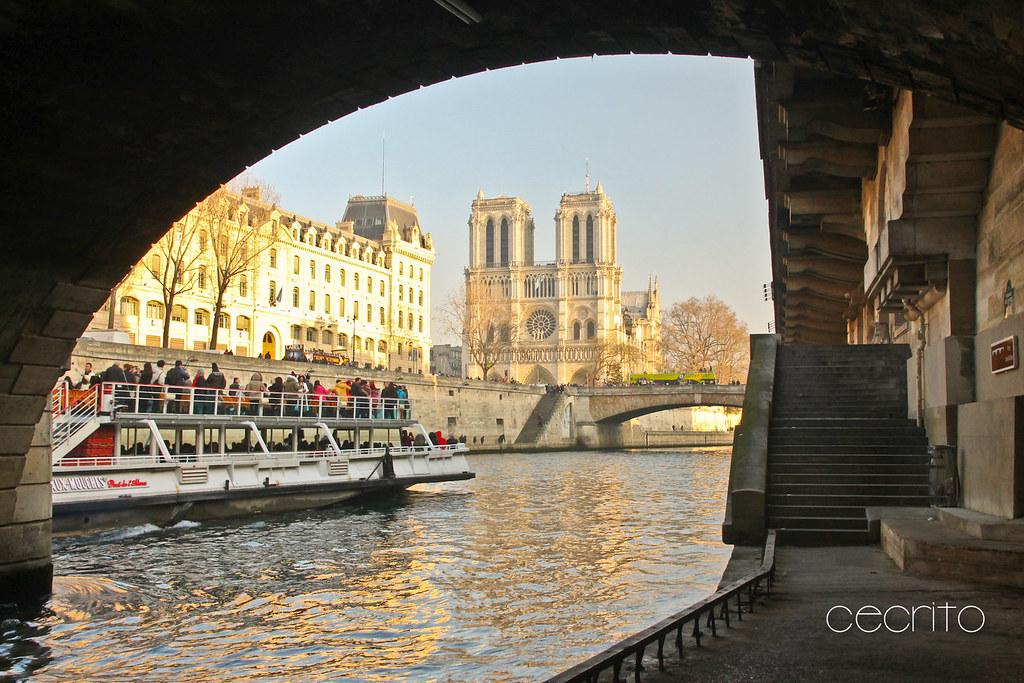 El Sena y la Catedral de Notre Dame