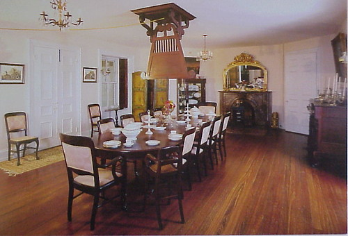 19 Dining Room At Longwood Natchez Mississippi