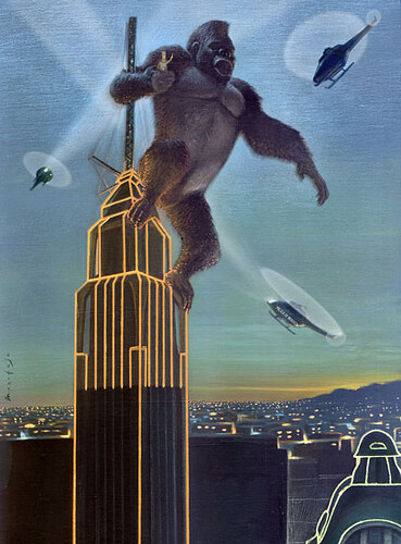 King Kong Chese Ilustraciones Flickr
