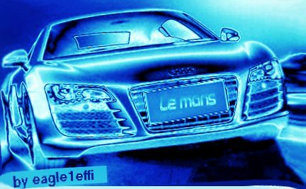 Audi R8 metalic blue :: VISION :::: | by eagle1effi