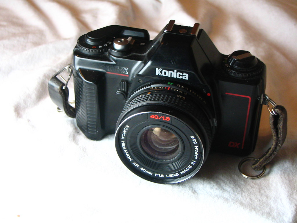 ... Konica TC-X My first real camera 1986 | by Kansas Image Maker