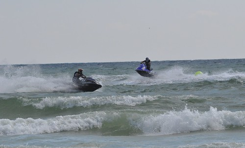 Yamaha Vxr Taking On Water And Bogging Down