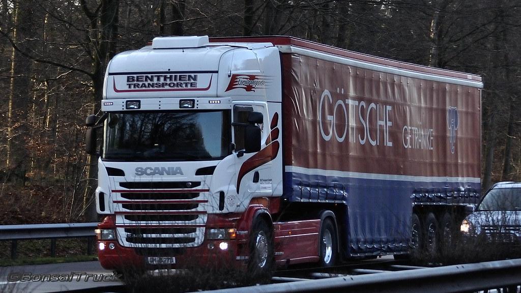 D - Benthien Transporte >Göttsche Getränke< Scania R09 440… | Flickr