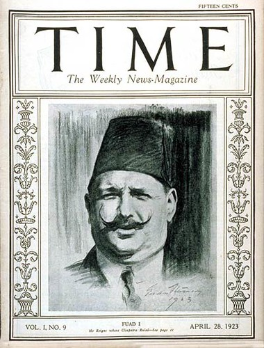 King Fouad I on the cover of the time | by Kodak Agfa