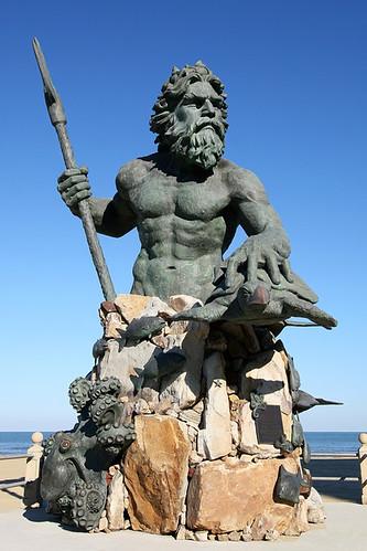 King Neptune Neptune Statue At 31st Street In Virginia