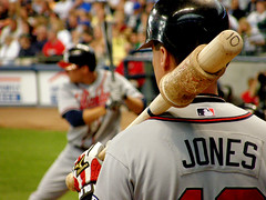 Chipper Jones | by Steve Paluch