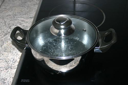 44 - Waser für Reis aufsetzen / Bring water for rice to a boil