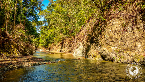Hiking the Rio Claro in Pavones Costa Rica