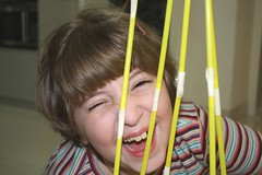 straw tower acting silly | by jimmiehomeschoolmom