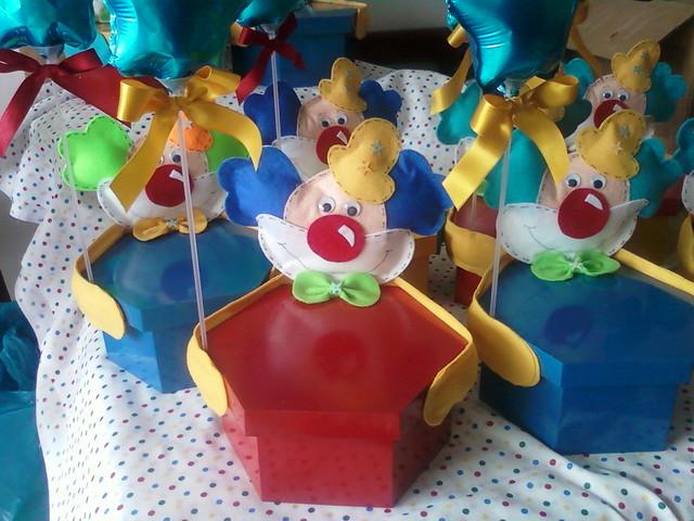 Centros de mesa de circo - Imagui
