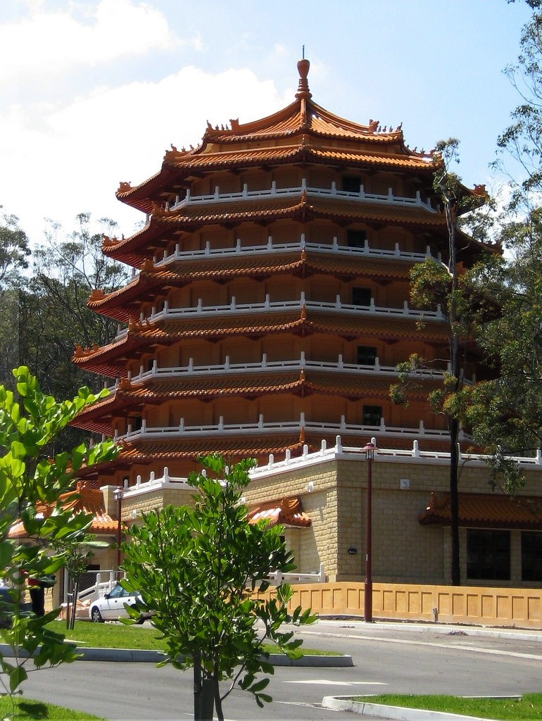 australia brisbane chung tian buddhist temple 4 flickr. Black Bedroom Furniture Sets. Home Design Ideas