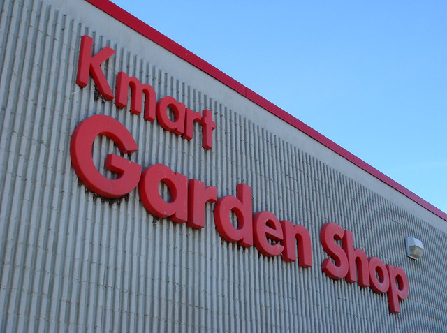 Kmart Garden Shop Sign In Torrington Ct Opened On March Flickr