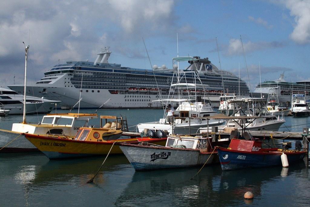 Cruise Ship Port   A Few More Aruba Photos To Upload Took Au2026   Flickr