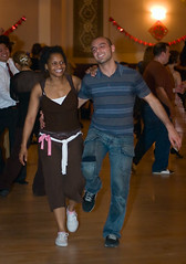 Lindy Hop Dancers