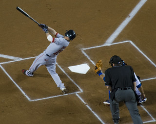 Dustin Pedroia hacks | by Michael G. Baron