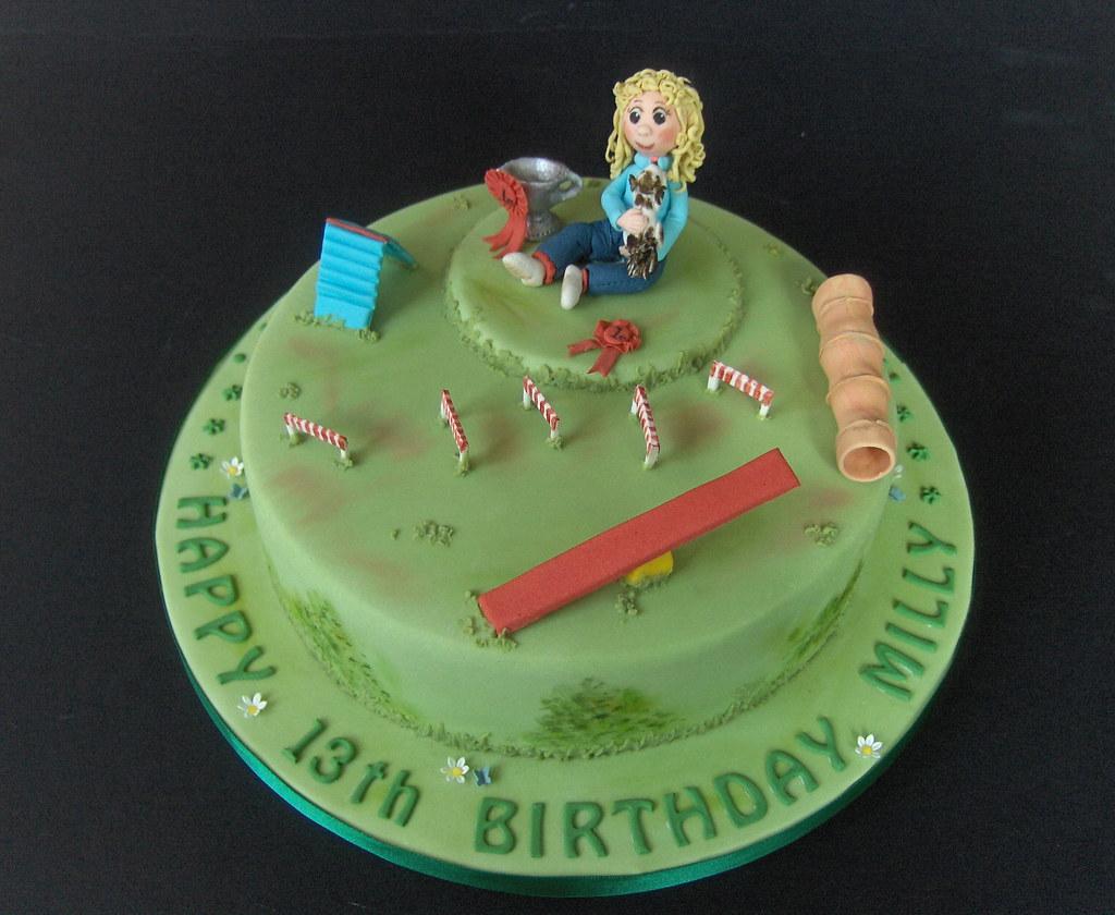Milly s 13th Birthday Cake .... ...... I always do a ...