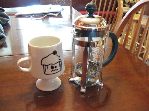 Is that not the cutest little French Press ever? | by moonrat42