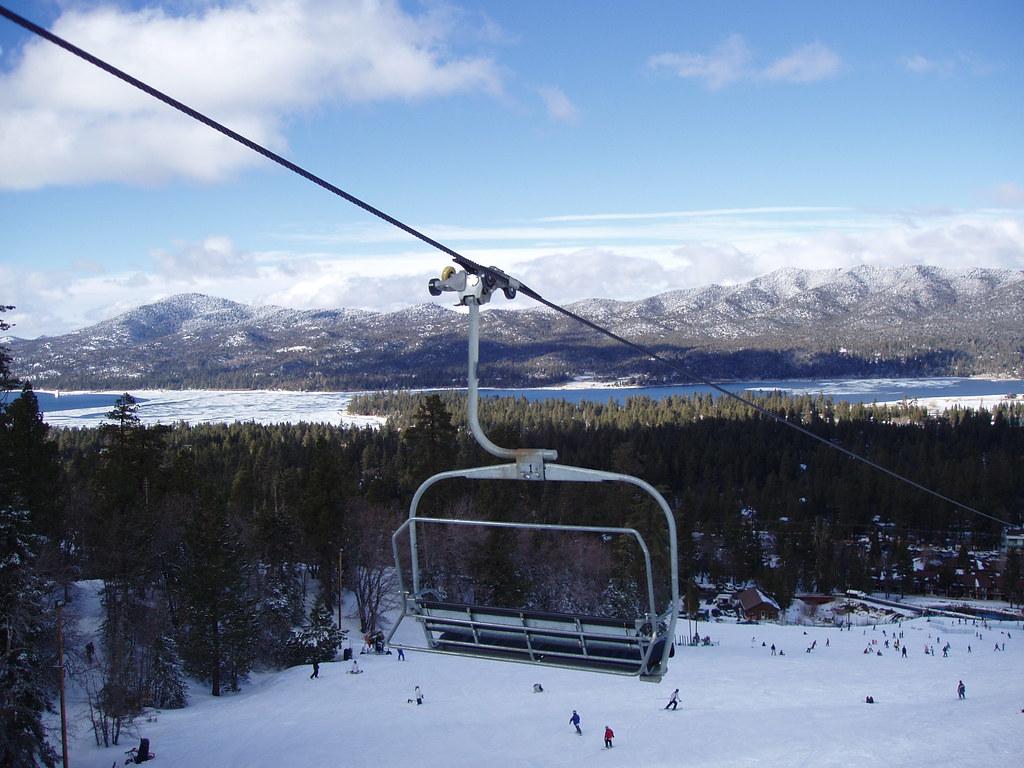 Snow Summit Big Bear California View Of Miracle Mile Ski Flickr
