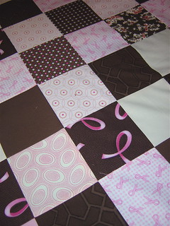 Charity Quilt top progress close up | by alissahcarlton