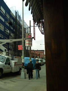 Verizon Installing FiOS in Williamsburg, Brooklyn | by Dana Spiegel