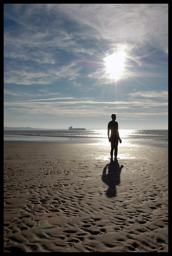 The lonely man of Crosby beach | by Fanatical Apathist