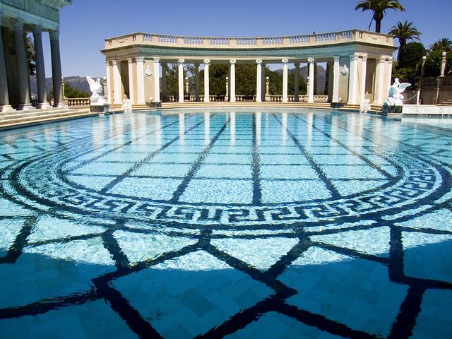 Hearst Castle Neptune Pool Easily The Best Swimming Pool