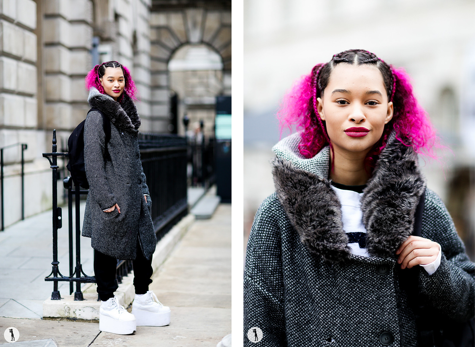 Street style - London Fashion Week RDT FW15-16