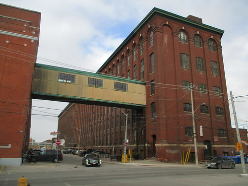 Old factory of Liberty Village