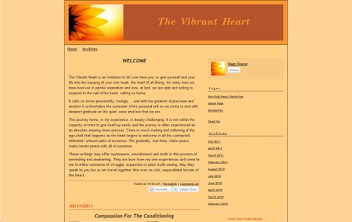 The Vibrant Heart | by Blogging Women