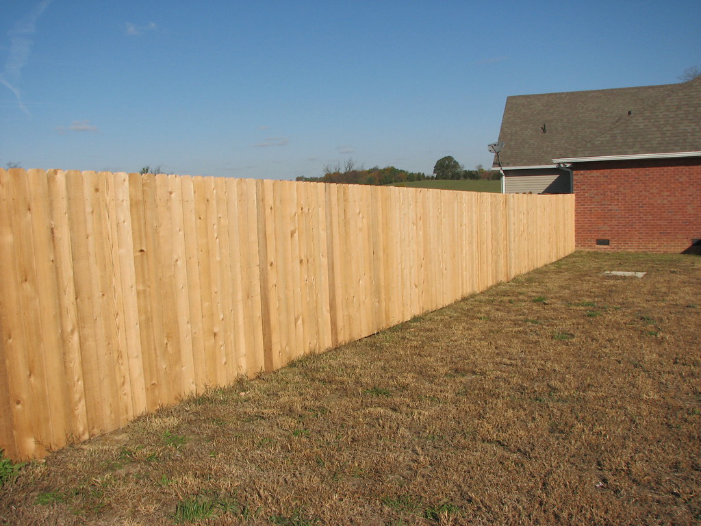 Standard 6ft privacy fence western cedar fence installed flickr baanklon Gallery
