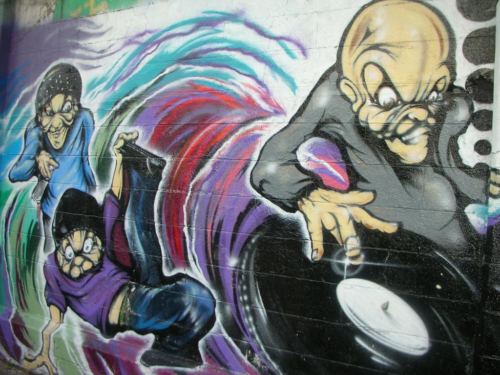 Yokohama graffiti wall - Yokohama Graffiti Wall 21
