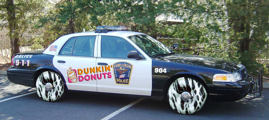Donut Cop Car For This I Took The Donuts Resized Them