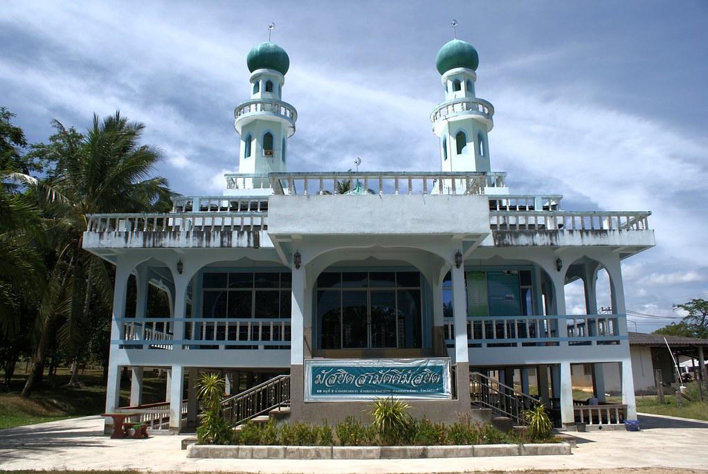 Une des deux (?) mosquées de Koh Lanta.