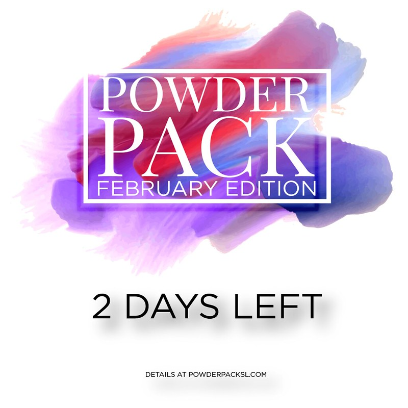 Powder Pack | February 2017 | 2 days countdown
