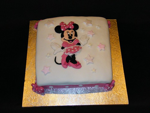 Minnie Mouse Cake Decorations Walmart