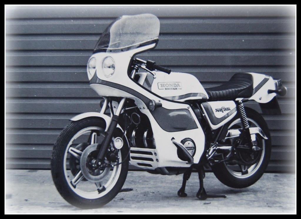 honda britain cb 750 this one had an 810 cc big bore kit