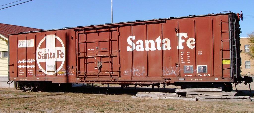 Old Santa Fe Car