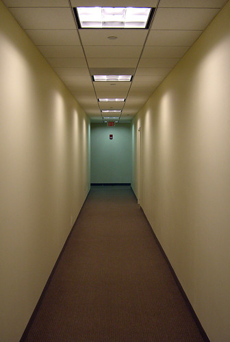 Office Hallway | by walknboston