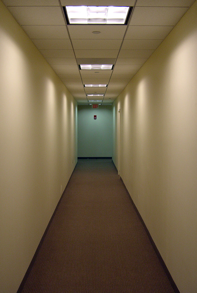 M Office Hallway  By Walknboston