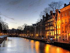 Herengracht at dawn | by MarcelGermain