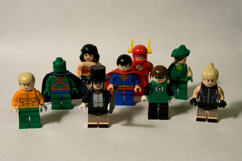 Justice League Minifigs - Quorum | by levork