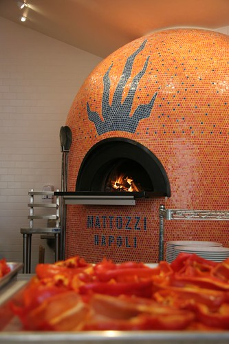 Wood Pizza Oven In Kitchen