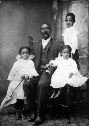 African American Man and Children | by Black History Album
