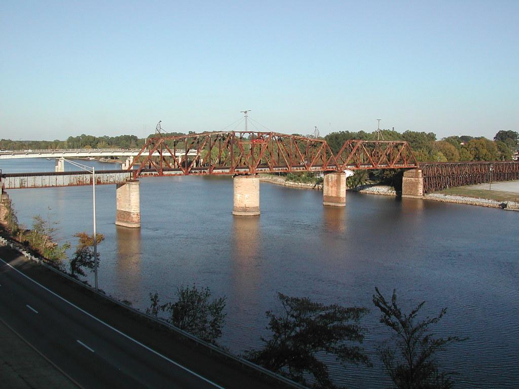 Etowah Memorial Bridge over the Coosa River, Gadsden, AL