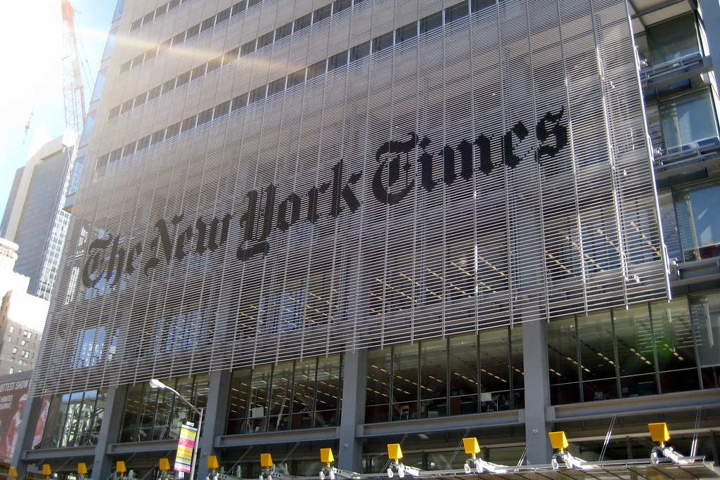 Francois Illas New Tradition: NYC: New York Times Building