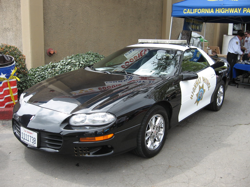 Chp Camaro California Highway Patrol Chevrolet Camaro